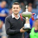 Snooker world champion Mark Selby is a big Leicester fan