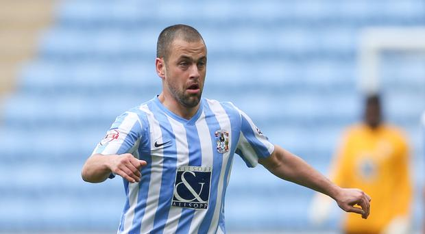 Joe Cole joined Coventry from Aston Villa in January