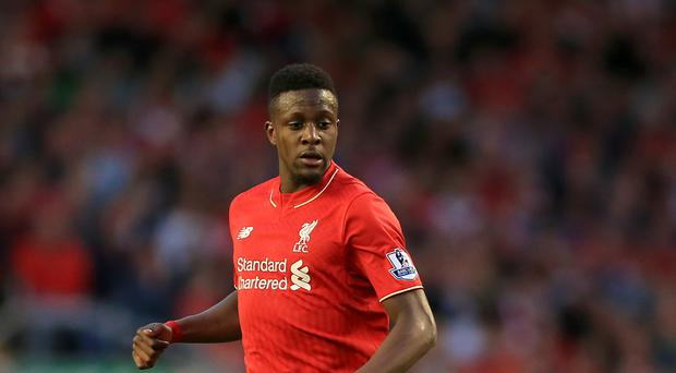 Liverpool forward Divock Origi is targeting a swift return from his ankle injury
