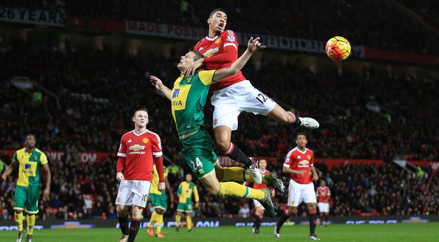 Relegation-threatened Norwich have an important match with Manchester United on Saturday