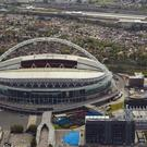 Tottenham could play their Champions League home games at Wembley next season