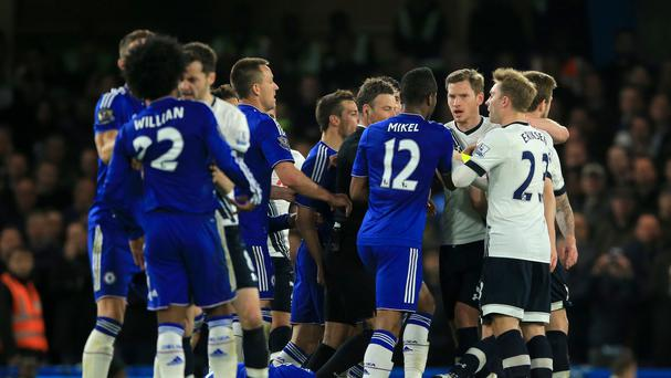 Chelsea interim manager Guus Hiddink believes Tottenham will learn from their fiery clash with his team