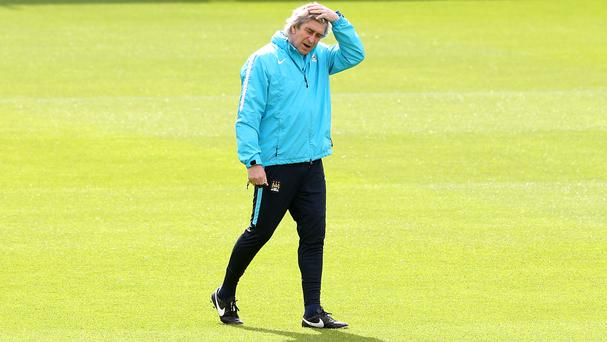 Manuel Pellegrini needs to rouse his Manchester City side against Arsenal