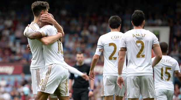 Swansea stunned West Ham