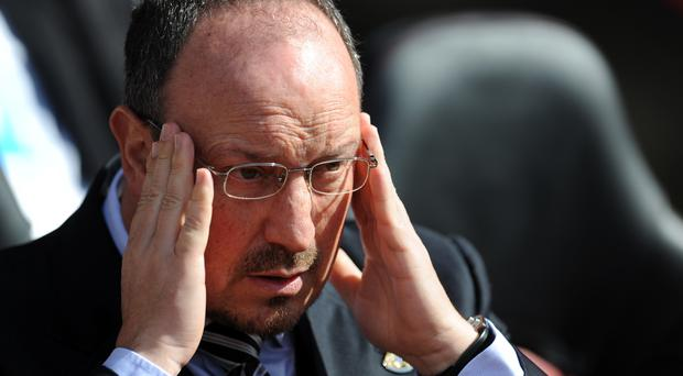 The goalless draw with Aston Villa leaves Rafael Benitez's Newcastle side deep in trouble
