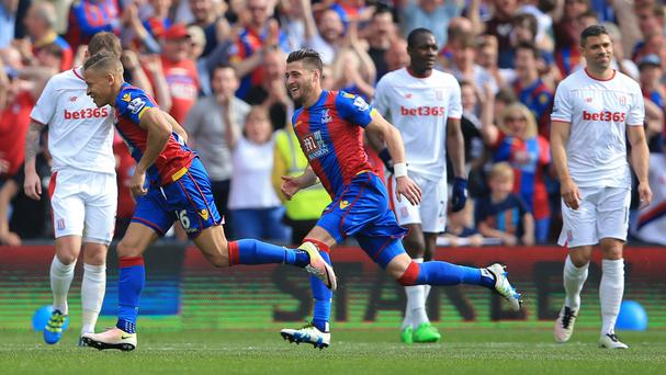 Dwight Gayle, left, could be handed a starting place against Manchester United
