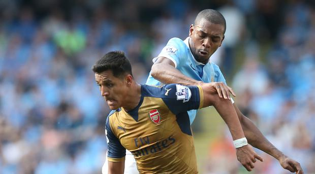 An equaliser from Arsenal's Alexis Sanchez damaged Manchester City's Champions League hopes