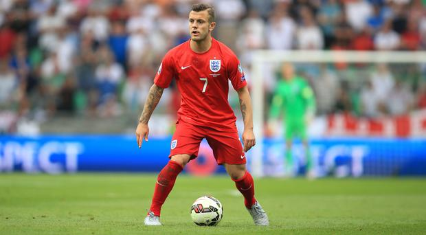 Jack Wilshere last turned out for England in June last year before breaking his leg in pre-season training
