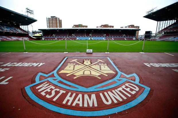 The stage is set for Upton Park to host its last match tonight when Manchester United are the visitors. Photo: Getty