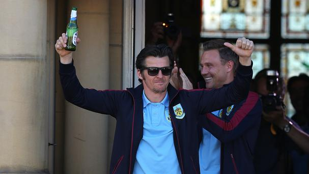 Joey Barton refused to lift the Championship trophy when it was passed around