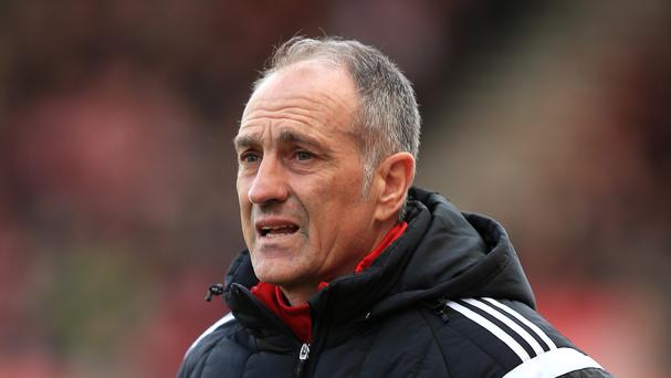Swansea head coach Francesco Guidolin looks set to stay at the club next season