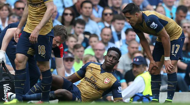 Arsenal's Danny Welbeck