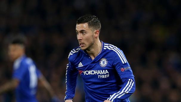 Chelsea's Eden Hazard scored a brilliant goal at Liverpool