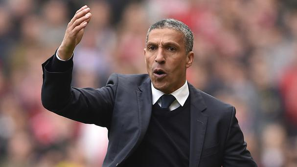 Chris Hughton is confident Brighton can still secure promotion