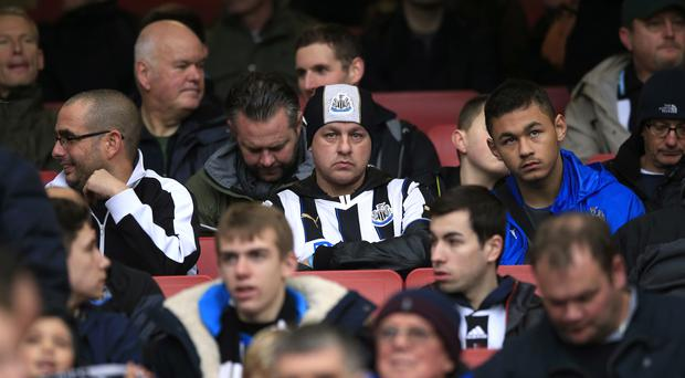 Newcastle's relegation from the Barclays Premier League was confirmed on Wednesday