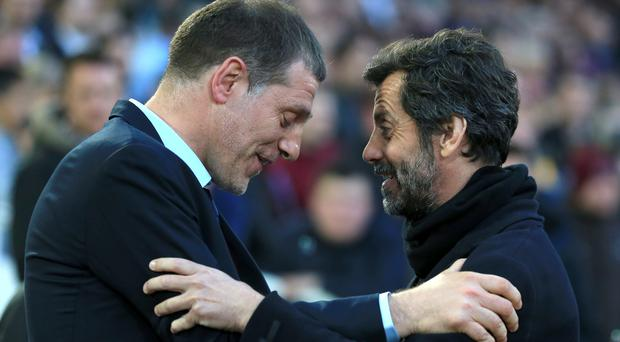 West Ham manager Slaven Bilic, pictured left, says Watford's decision to sack Quique Sanchez Flores (right) is