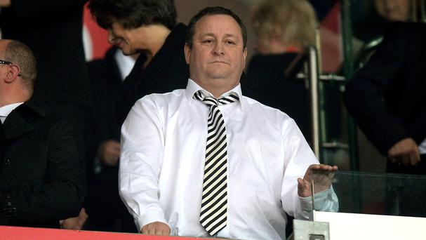 Mike Ashley labelled Newcastle's relegation 'bitterly disappointing'