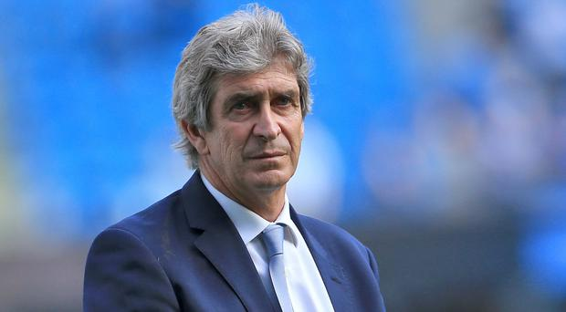 Manchester City manager Manuel Pellegrini hopes to finish his reign by securing Champions League football