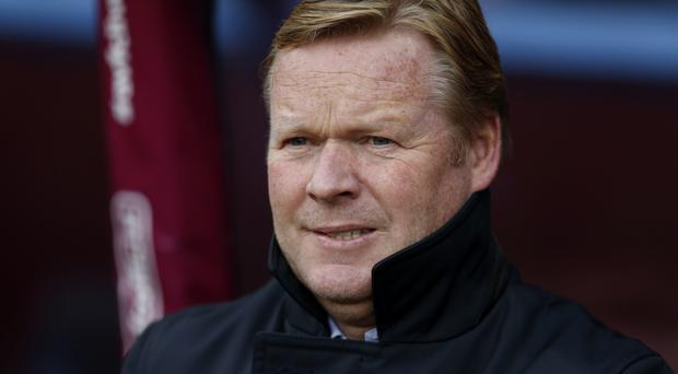 Ronald Koeman is happy staying as manager of Southampton