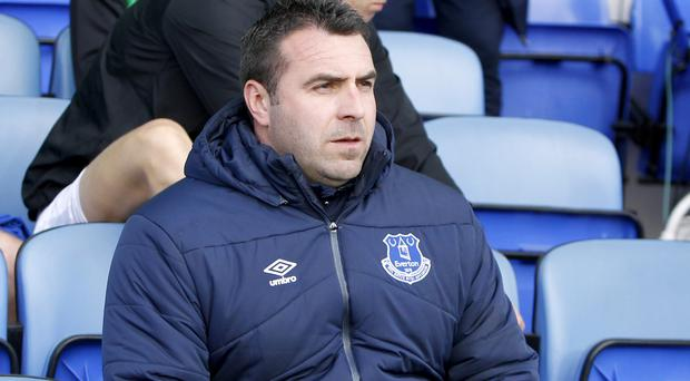 David Unsworth, pictured, was sad to see Roberto Martinez lose his job as Everton manager