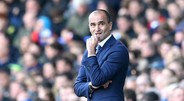 Roberto Martinez, pictured, remains adamant he could have reversed Everton's slump given more time at the helm