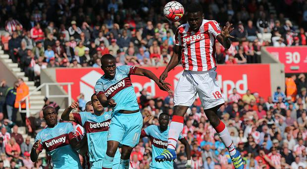 Mame Diouf scored the winner for Stoke
