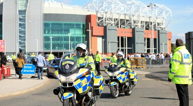 Manchester United's game with Bournemouth was called off after a suspect package was found at Old Trafford