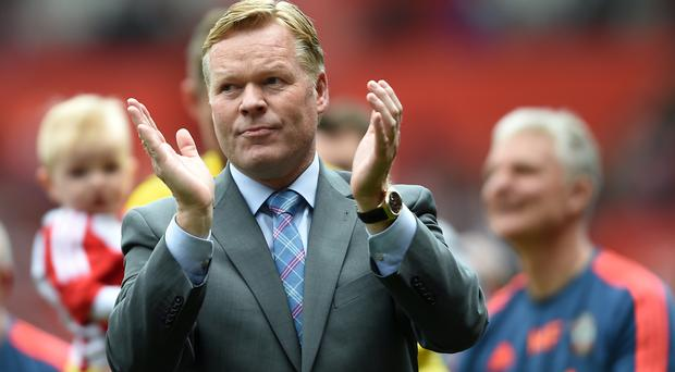 Ronald Koeman is expected to hold talks over his future next week