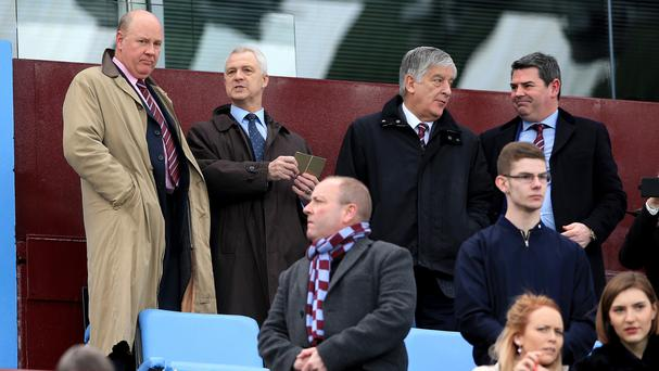 Adrian Bevington (right) has left Aston Villa after just under two months with the club.