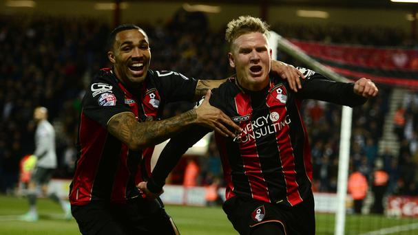 Callum Wilson, left, and Matt Ritchie have impressed for Bournemouth