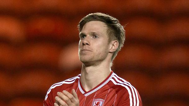 Czech Republic international defender Tomas Kalas, who has spent the last 16 months on loan at Middlesbrough