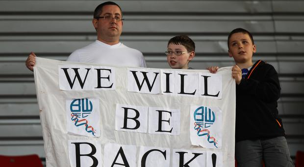 Bolton were relegated from the Championship this season. Seven clubs could be relegated in 2019 under new proposals