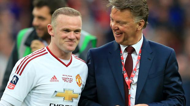 Van Gaal Gets Rooney Backing As Mourinho Speculation Grows