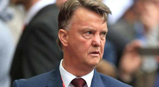 Reports suggest Louis van Gaal, pictured, will be replaced at the United helm this week by former Chelsea manager Jose Mourinho