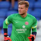 Mainz goalkeeper Loris Karius is set to complete a move to Liverpool