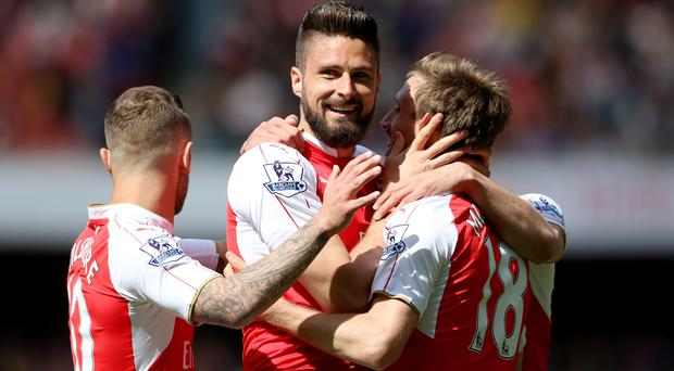 Arsenal were the biggest earners from the Barclays Premier League last season