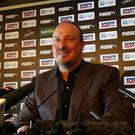 Rafa Benitez will lead Newcastle's bid for promotion back to the Premier League