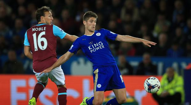 Andrej Kramaric in action during his Leicester days