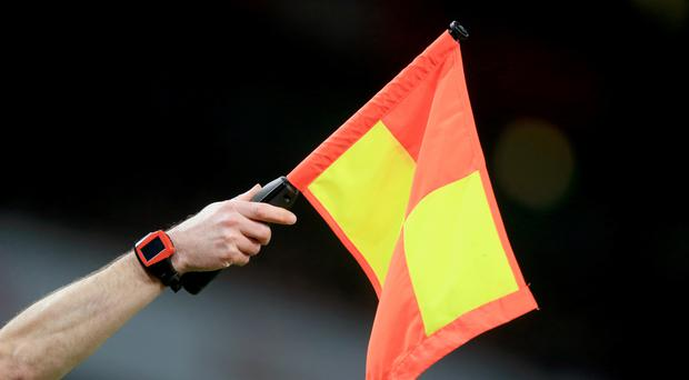 Match officials in football will be part of an experiment in video technology