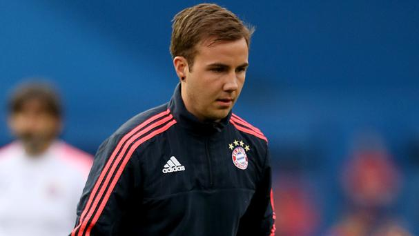 Liverpool remain interested in Bayern Munich's Mario Gotze