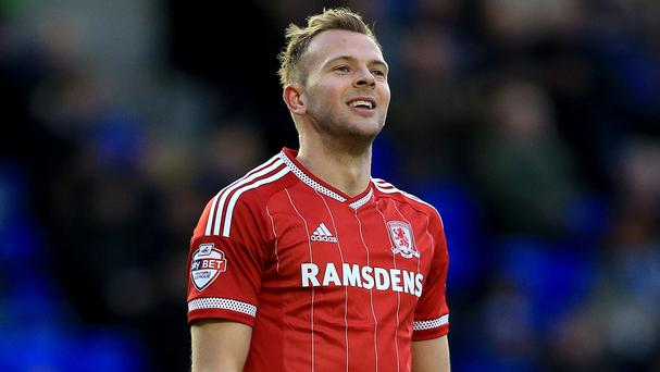Middlesbrough striker Jordan Rhodes is looking forward to life in the Barclays Premier League