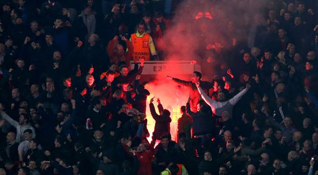 Liverpool have been fined by UEFA for their fans setting off fireworks