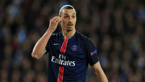 Could Zlatan Ibrahimovic, pictured, follow Jose Mourinho to Old Trafford this summer?