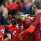 Manchester United striker Marcus Rashford was handed his senior England debut against Australia at the Stadium of Light,