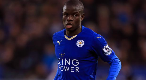 N'Golo Kante helped Leicester to a shock Premier League title this year
