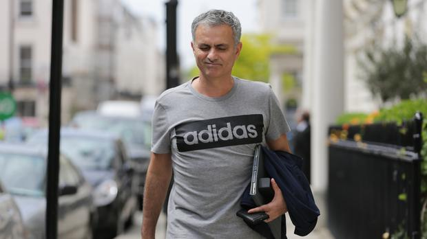 Jose Mourinho, pictured, is not focussing on Pep Guardiola across Manchester