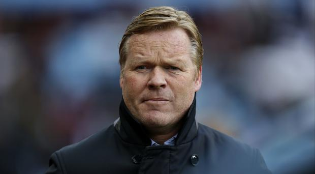 Ronald Koeman had recently held positive negotiations with Southampton about extending his deal. Photo Credit: PA News