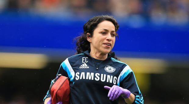 Eva Carneiro during her time at Chelsea
