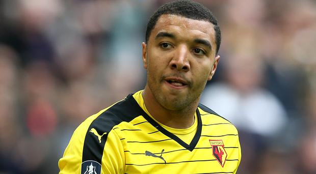 Watford striker Troy Deeney. Photo: PA