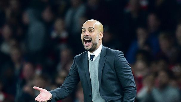 Pep Guardiola's first match as Manchester City manager will be against former club Bayern Munich